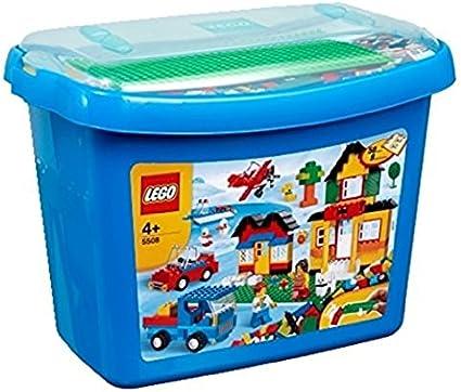 LEGO 5508 - Caja de bloques Deluxe [versión en inglés]: Amazon.es: Juguetes y juegos