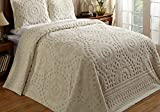 Better Trends / Pan Overseas 120 x 110'' Rio Bedspread, King, Ivory