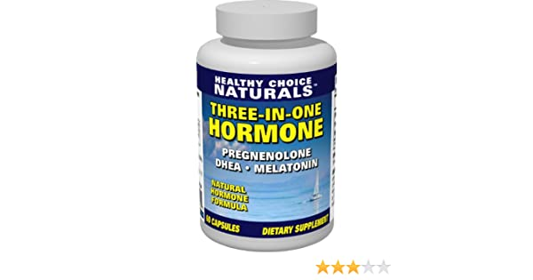 Amazon.com: 3-in-1 Hormone Supplement-Dhea, Melatonin & Pregnenolone for Optimum Health & Vitality (60 Capsules/60 day supply): Health & Personal Care
