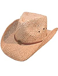 Men's Straw Cowboy Hats (5 Great Designs) - FAST POST (5-10 working days)