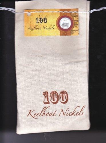 2005 -D KEELBOAT NICKELS US MINT SEWN BAG
