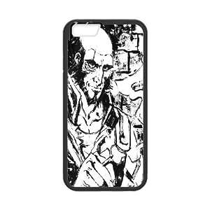 Bloomingbluerose Jet Black of Cowboy Bebop Case for IPhone 6 Plus, with Black