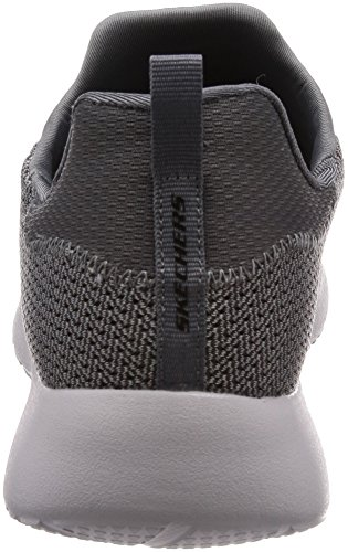de Men's Low Dynamight Black Top Charbon Shoes Bois Skechers SnPxqx