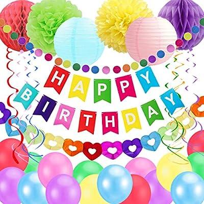 Suministros de Fiesta de decoración de cumpleaños para niños ...