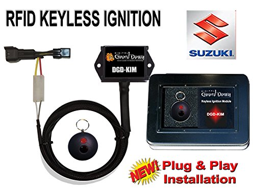 Keyless Ignition Module for Suzuki GSXR 600, 750, 1000 & Hayabusa 1300 Motorcycles