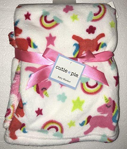 Cutie Pie Girls Baby Blanket, 30