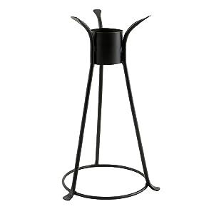 Achla Designs Trestle II Gazing Globe Ball Stand, 14-Inch H