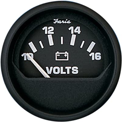 Faria 12821 Euro Voltmeter (3003.3439): Automotive
