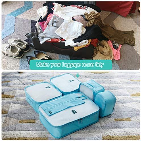 Love Bird 3 Set Packing Cubes,2 Various Sizes Travel Luggage Packing Organizers p