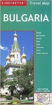 Bulgaria Travel Map (Globetrotter Travel Map) Free Download