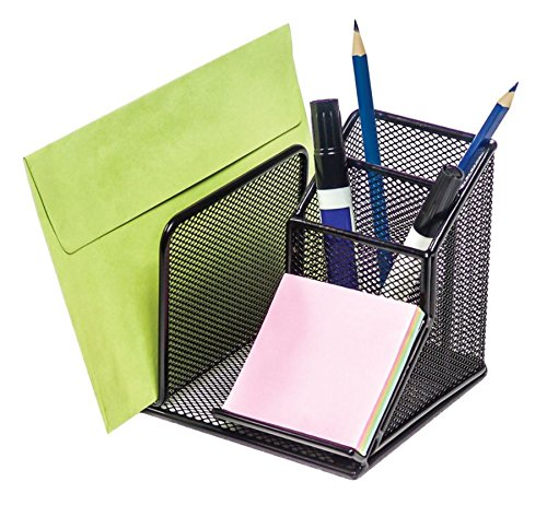 Pad Stamp Sanford - Rolodex Mesh Collection Desk Organizer, Black (22171)