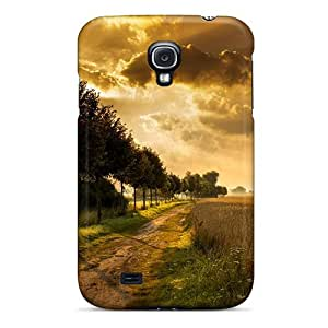 Durable Case For The Galaxy S4- Eco-friendly Retail Packaging(excellent Autumn Lscape)