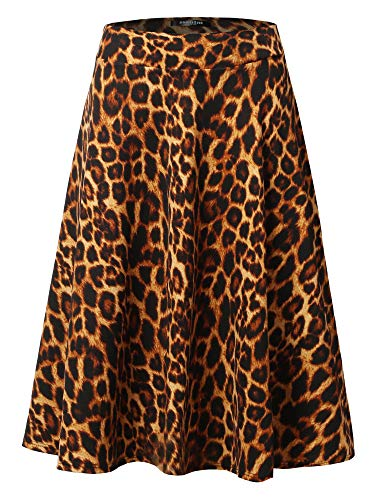 Leopard Stretch Skirt - 5