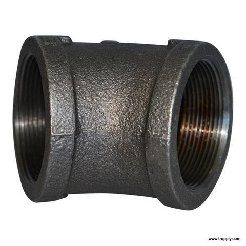 Threaded Fitting | 45° Elbow | Malleable Iron | Galvanized | 150# | NOM: 0.5
