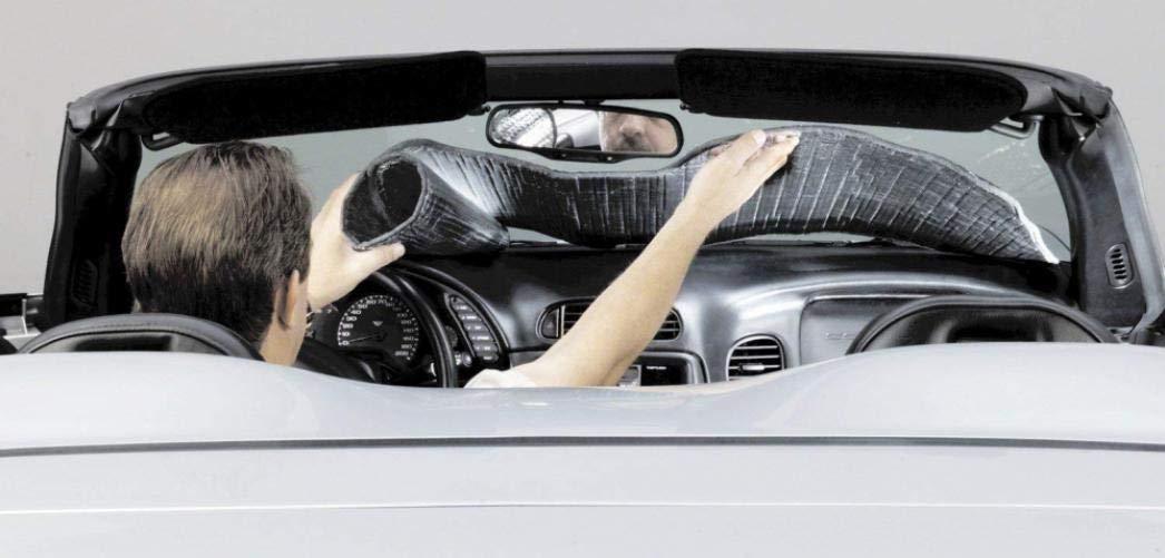 Covercraft UR11115 Flex Shade Custom Fit Windshield Shade for Select Chevrolet Equinox//Terrain Models Radiant Barrier Material Silver