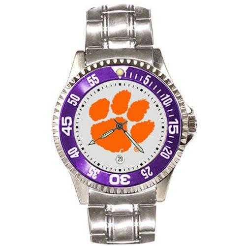 (Clemson Tigers Competitor Steel Men's Watch)