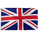 Online Stores United Kingdom Printed Polyester Flag, 3 by 5-Feet