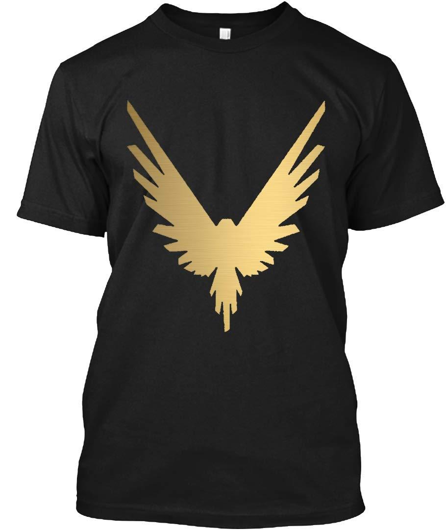 Gold Maverick T Shirt 8666