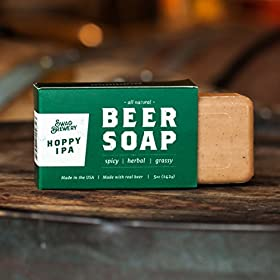 BOOZY SOAP – Great Gift for Wine, Whiskey, and Beer Drinkers -Made in USA-