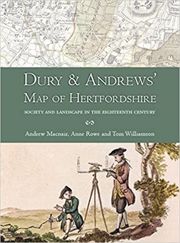 Dury and Andrews' Map of Hertfordshire: Society and