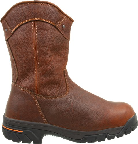 Work Timberland Helix 10 Steel Brown Boot Wellington W Brown Toe Mens Waterproof PRO US ffwxB0q6