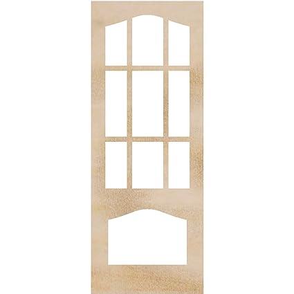 Amazon.com: Kaisercraft Wood Flourishes 2/Pack-Decorative Door ...