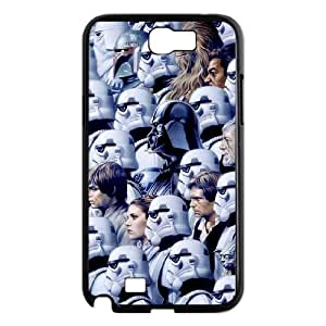 YUAHS(TM) Customized Hard Back Phone Case for Samsung Galaxy Note 2 N7100 with Star Wars YAS369097