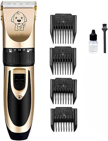 BXFUL Cortapelos para Mascotas, Kit De Afeitadora Eléctrica ...