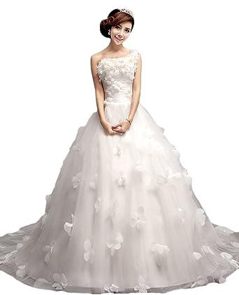 Amazon.com: hblld Mujer Uno de boda para vestido de novia de ...