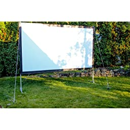 Visual Apex Projector Screen 144HD Portable Indoor/Outdoor Movie Theater Projector Screen 16:9 format