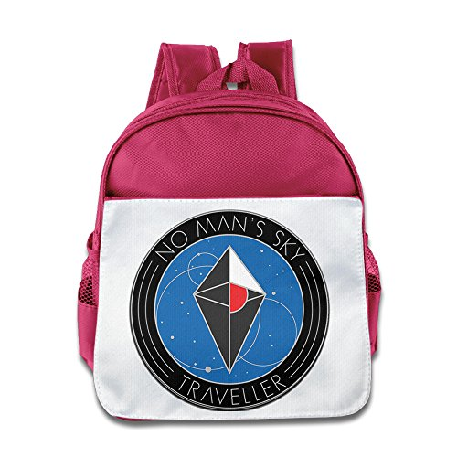 MoMo Unisex No Mans Sky Children School Bag For Little Kids