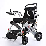 2018 NEW electric wheelchair Power Chair (2 years global warranty) weighs just 57 lbs with battery - Opens & folds in 2 seconds.