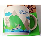 Starbucks Vancouver Island Canada You Are Here Collection Mug
