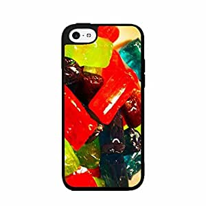 Diy iphone 5 5s case Hard Fruit known Candy - Plastic Phone C Case the Back 2 Cover (iPhone 4/5 5S)