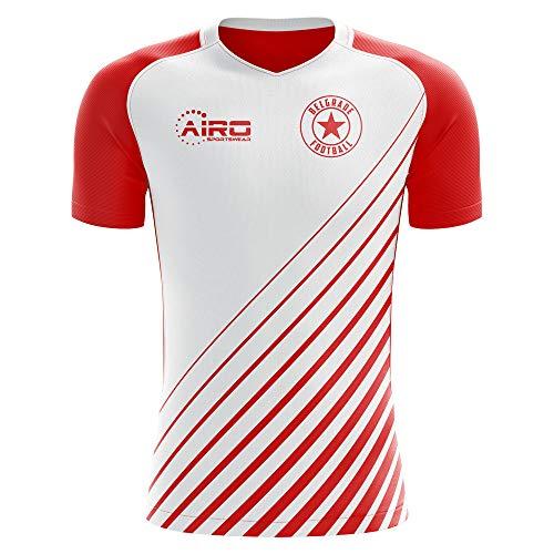 (Airo Sportswear 2018-2019 Red Star Belgrade Home Concept Football Soccer T-Shirt Jersey)