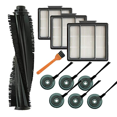 - Lxiyu 1 Main Brush + 3 Pre-Motor Filter + 6 Side Brushes Compatible with Shark ION Robot R71 R72 R75 R85 S86 S87 RV850. Compare to Part #RVFFK950 & RVSBK950