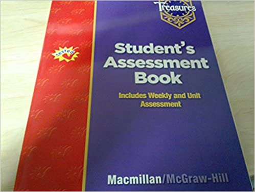 Treasures Student S Assessment Book Grade 5 Includes