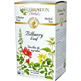 Celebration Herbals Teabags Herbal Tea Bilberry Leaf Organic, 24 Bags