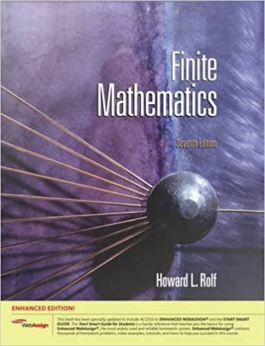 FINITE MATH TEXTBOOK EPUB