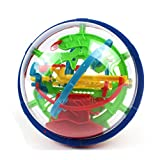Maze Ball Intellect 3D Magic Puzzle Game with 100 Challenging Barriers for Kids and Children Best Gift,Magic Puzzle Game Independent Play for Children 7-15 Years