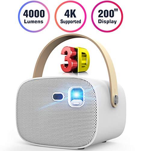 Mini Projector 4000 Lumens