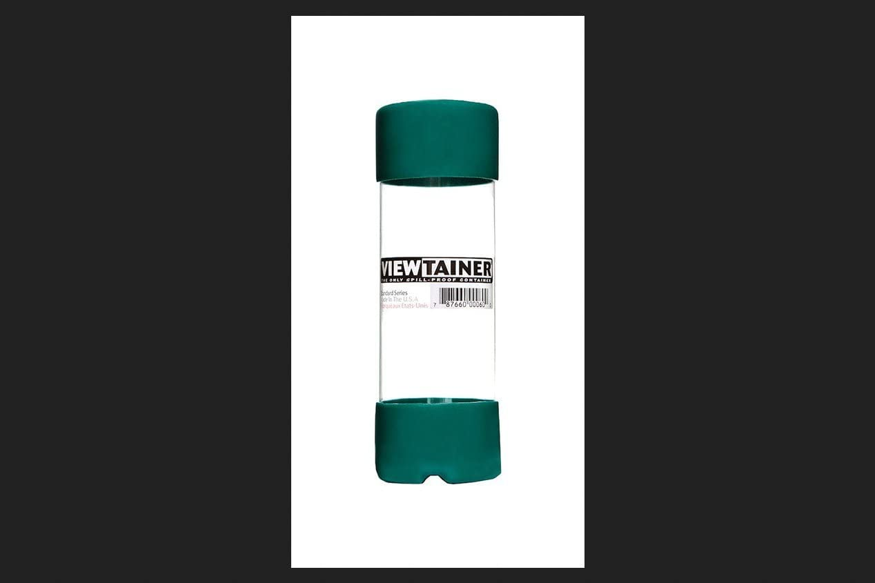 """Viewtainer Slit Top Storage Container 2/""""X6/""""-Red"""