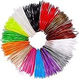 3D Pen Filament Refills 3D Printer Filament Refills | PLA 1.75mm | 12 Colour Array (12 Random Colors, Each 5meter/16.4ft)