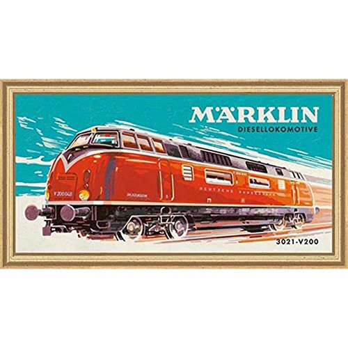 Schipper Marklin Diesel Locomotive Paint-by-Number Kit