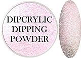 SHEBA NAILS Dipcrylic Dip Dipping Powder SUGAR PINK - 1oz Jar