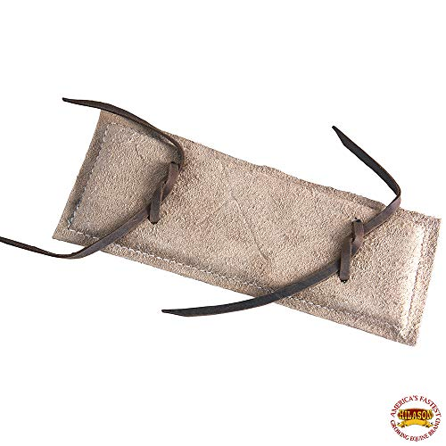 HILASON Roughout Leather Super PRO Rodeo Equipment Bull Rope PAD Junior SZ ()