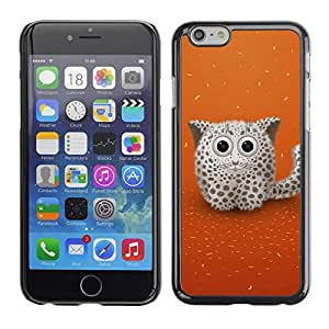 Licase Carcasa protectora - Cute Snow Cat - Apple Iphone 6 Plus 5.5