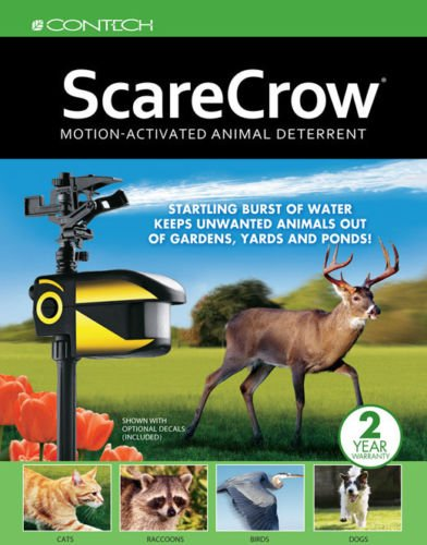 contech 300000295 scarecrow motion activated sprinkler animal deer Scarecrow Sprinkler contech 300000295 scarecrow motion activated sprinkler animal deer deterrent