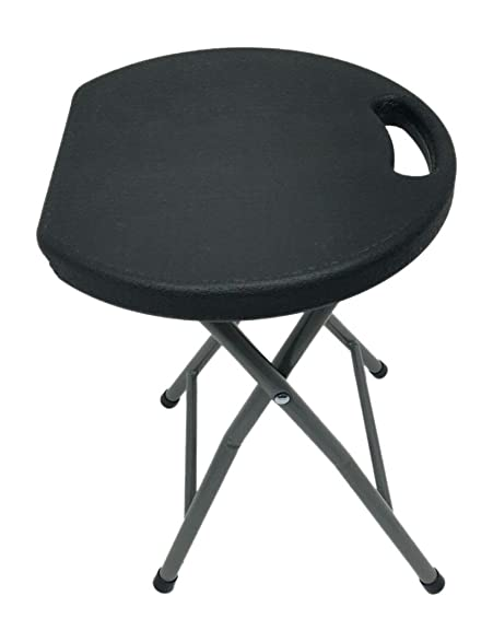 Heavy Duty - Light Weight- Metal and Plastic Folding Stool - 400lb Capacity - Black  sc 1 st  Amazon.com & Amazon.com: Heavy Duty - Light Weight- Metal and Plastic Folding ... islam-shia.org