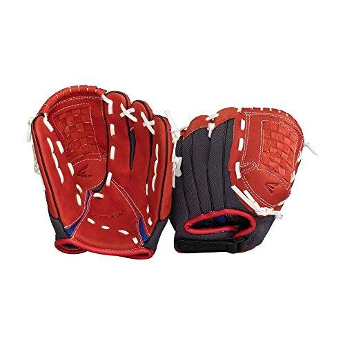 Easton Youth Z-Flex ZFX 1101 Ball Glove (11-Inch), Red/Black, Right Hand Throw